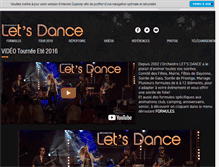 Tablet Preview of let-s-dance.net